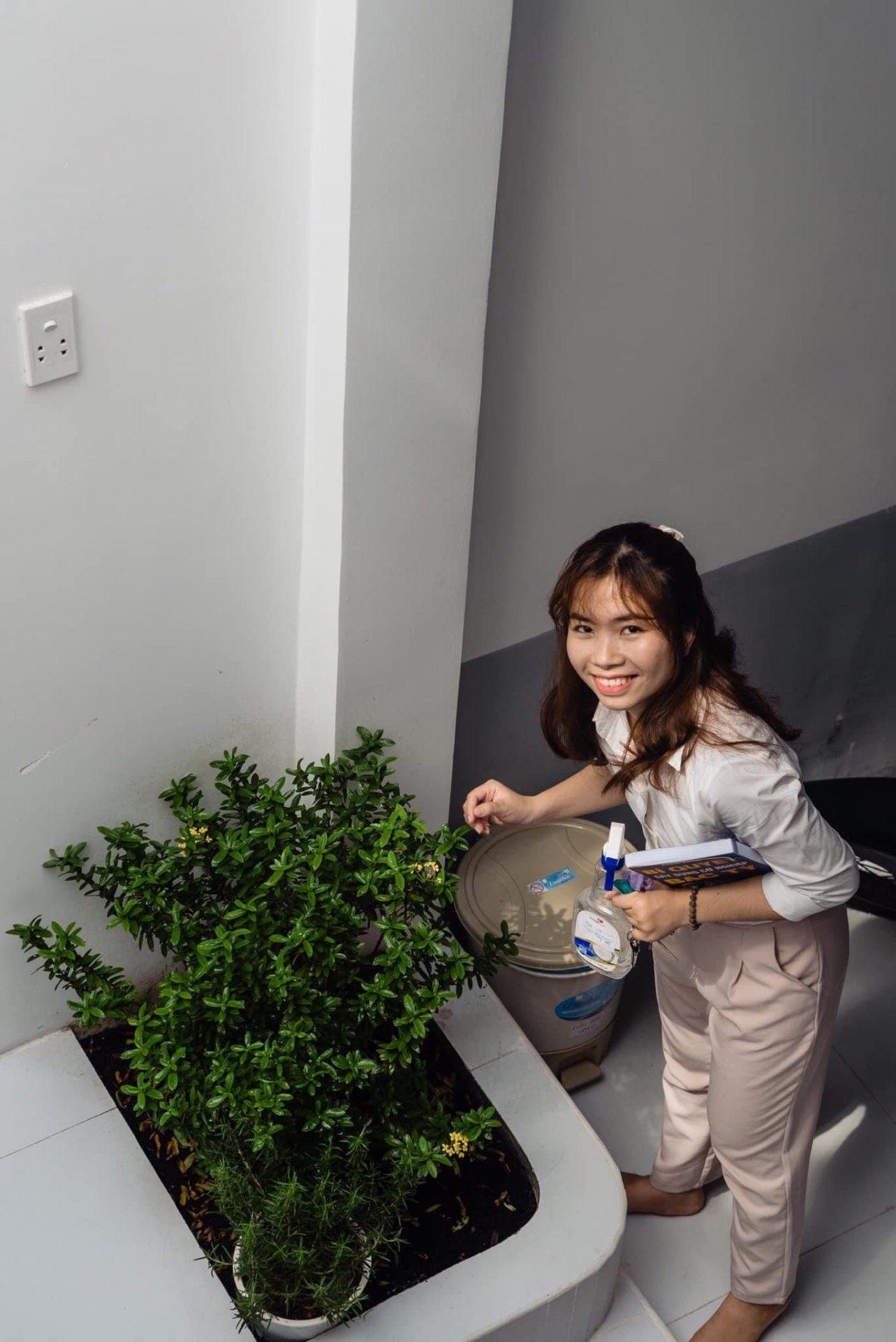 HAPPY YOUNG HOUSE - NGÔI NHÀ CHUNG PHỦ ĐẦY MÀU XANH