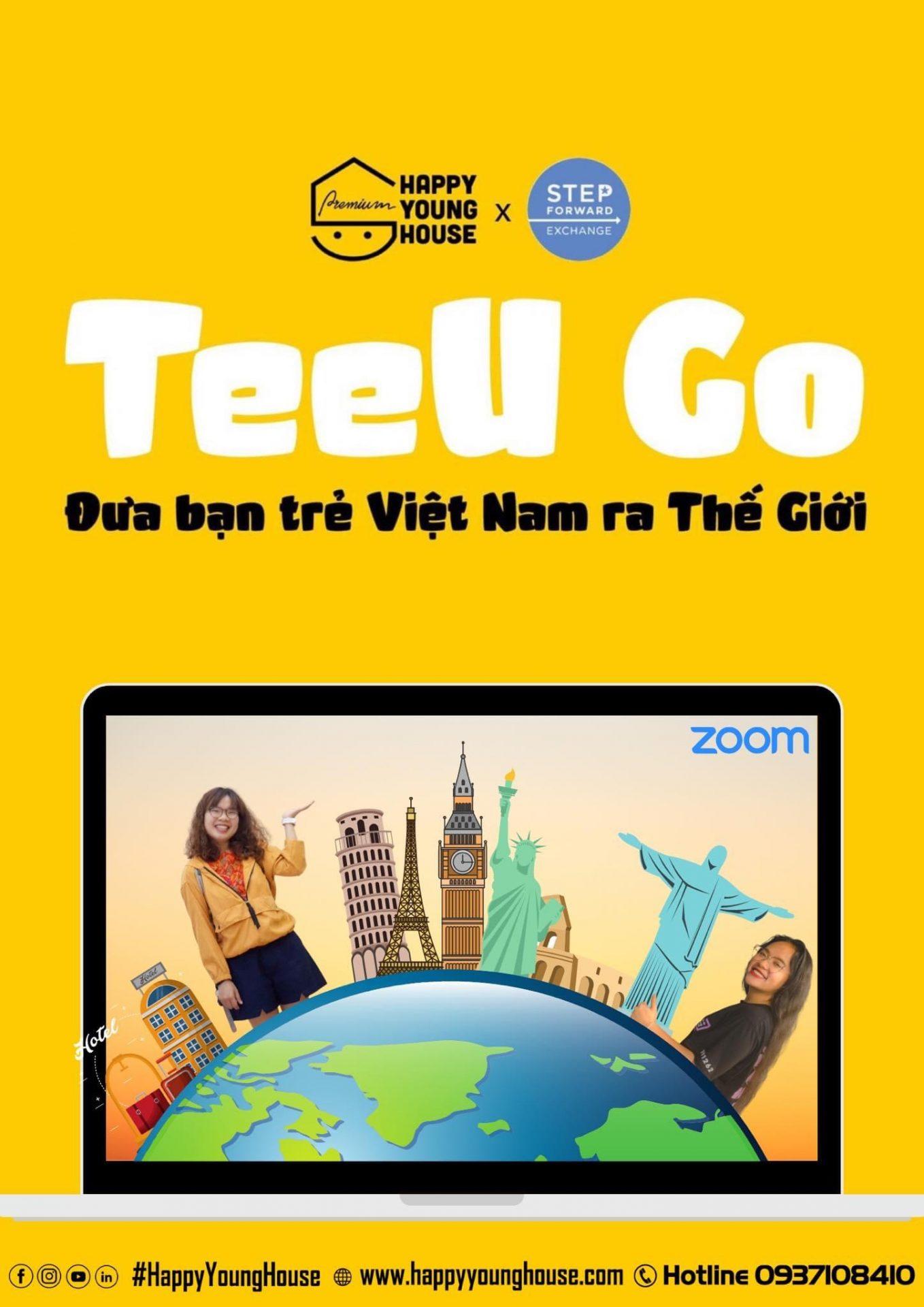 TeeU Go - Đưa bạn trẻ Việt Nam ra ngoài thế giới